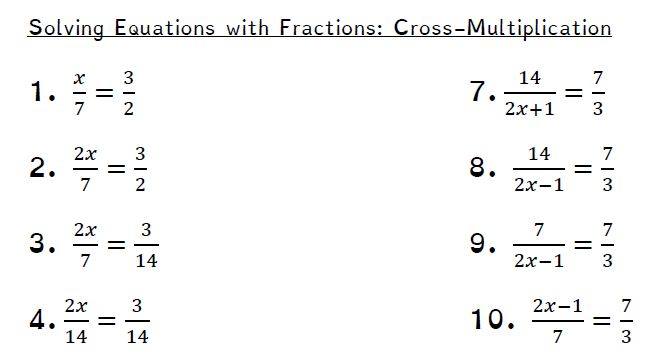 Solving Equations – Minimally Different