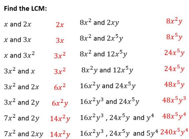 algebraic-lcm